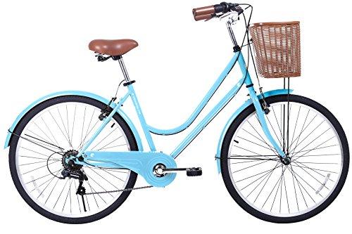 Learn More About Gama Bikes City Basic 26 – Women's Cruiser Bike - Step-Through Comfort Frame, 6...