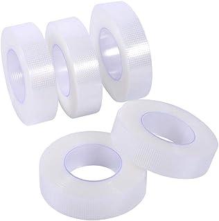 5 rollen transparante PE-tape, ademende valse wimperextensions make-up tools, tape ademende valse wimper extensions make-u...