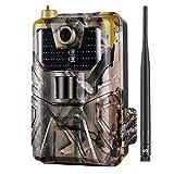 TOOGOO Caméra de Chasse Hc-900 LTE 4G Caméra Trail 16 MP 940 Nm MMS/SMS/Smtp/FTP...