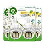 Air Wick Eléctrico - Recambios de ambientador eléctrico, esencia para casa con aroma a White Bouquet - pack de 6