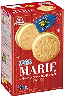 森永製菓 マリービスケットサンドアイス 35ml×6個×10箱