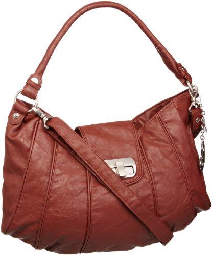 Axel David A42.052631 - Bolso al Hombro para Mujer, Color marrón, Talla S