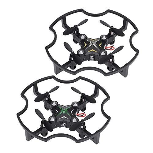 F17 2.4G Mini Drone Barometro integrato, 0.3MP 3D Flips RC Drone con funzione di ritorno automatico, modalità senza testa 720 * 576 Quadcopter.(verde)