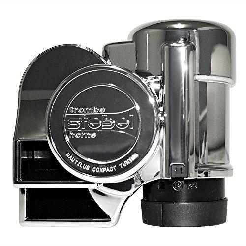 Stebel 11690053 - Nautilus Compact Tuning Mini Air Horn Chrome