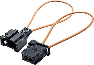 meisten Optische Faser Kabel Loop Anschluss Diagnosegerät Werkzeug Navigationssysteme weiblich/männlich Adapter für Mercedes Benz VW Audi BMW Porsche (Buchse Adapter + Stecker Adapter)