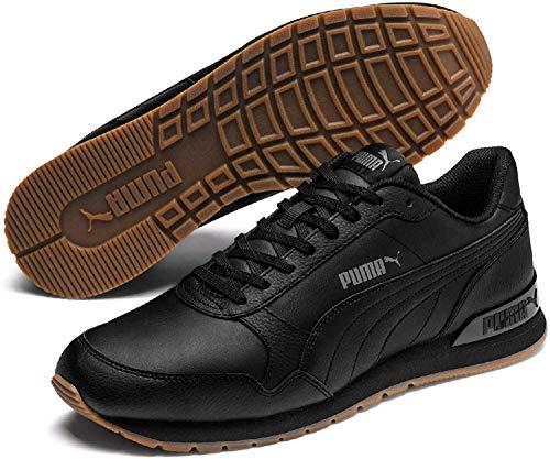 PUMA ST Runner V2 Full L, Zapatillas Unisex-Adulto, Negro Black/Castlerock White, 39 EU