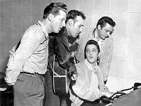 Elvis Presley, Jerry Lee Lewis, Carl Perkins, Johnny Cash 14 x 11