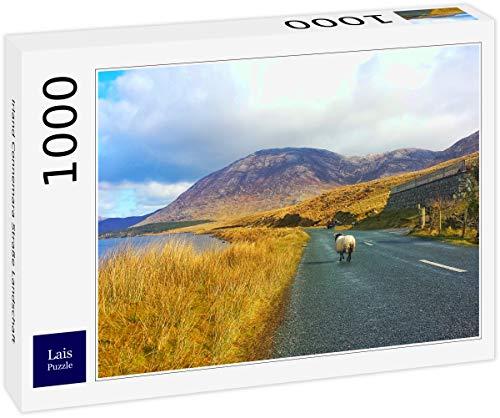 Puzzle Irlanda Paisaje de Carreteras de Connemara 1000 Piezas