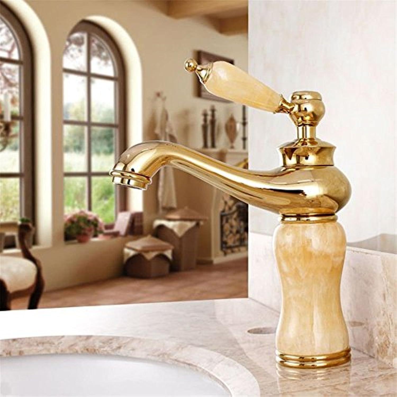 FERZA Home Waschbecken-Mischbatterie-Badezimmer-Küchen-Becken-Hahn auslaufsicher Speichern Sie Wasserfein für Küche-Antike Mbel