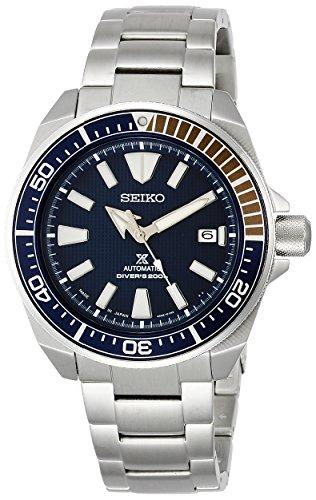 [セイコーウォッチ] 腕時計 プロスペックス メカニカル DIVER SCUBA ブルー文字盤 SBDY007 メンズ シルバー