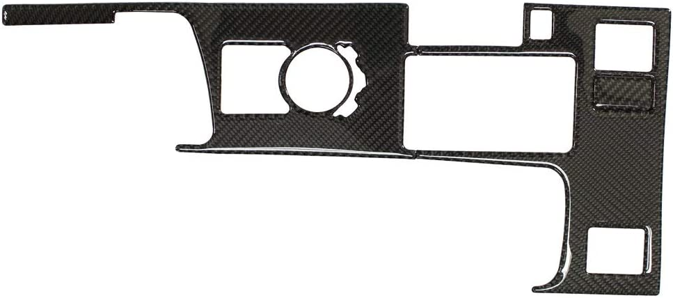 NewYall Carbon Indianapolis Mall Fiber Center Console Gear In a popularity Box T Cover Panel Shift