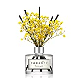 Best Diffuser Sticks - Cocod'or Preserved Real Flower Reed Diffuser, Refreshing Air Review