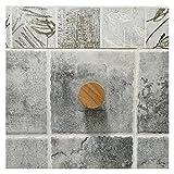 GuanRo 5 Estilos Papel higiénico Toalla Dispensador de Madera Rollo de Papel para baño Contacto Portátil Partidor de Papel Rack de Almacenamiento doméstico (Color : Accessories Circular)
