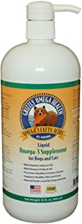Grizzly Omega Health for Dogs & Cats, Wild Salmon/Pollock...