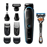 Braun 9-in-1 Trimmer MGK5280 Beard Trimmer for Men, body grooming Kit & Hair