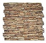 HO-M-006-1 Holzpaneele Teak-Holz Wandverblender Wanddesign Holzwand - Fliesen Lager Verkauf...