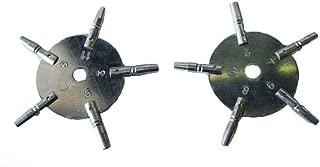 Brass Blessing Universal Pocket Watch Key Set, Odd & Even Sizes from 5020-21