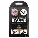 Franklin Sports Houston Texans Table Tennis Balls - NFL Team Table Tennis Balls - Official Team Logos and...