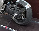 Set de correas para el transporte seguro de la moto en remolques y furgonetas Tyre Fix de Acebikes