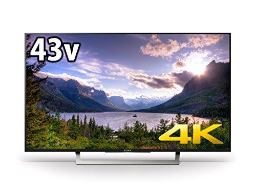{ソニー 43V型 液晶 テレビ ブラビア KJ-43X8300D 4K Android TV 外付けHDD録画外付けHDD裏番組録画 2016年モデル}