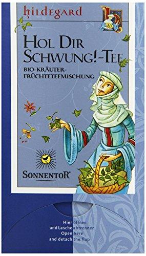 Sonnentor Hol Dir Schwung!-Tee Hildegard bio, Doppelkammerbeutel, 3er Pack (3 x 23 g)