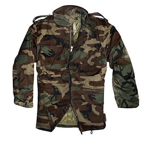 P-T-D shirtmachine M65 US Feldjacke Woodland -Kinder- (XL-164)