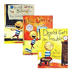 ★ When David Shannon was five years old, he wrote and illustrated his first book. On every page were these words: NO, DAVID! . . . ★ David's teacher has her hands full. From running in the halls to chewing gum in class, David's high-energy antics fil...