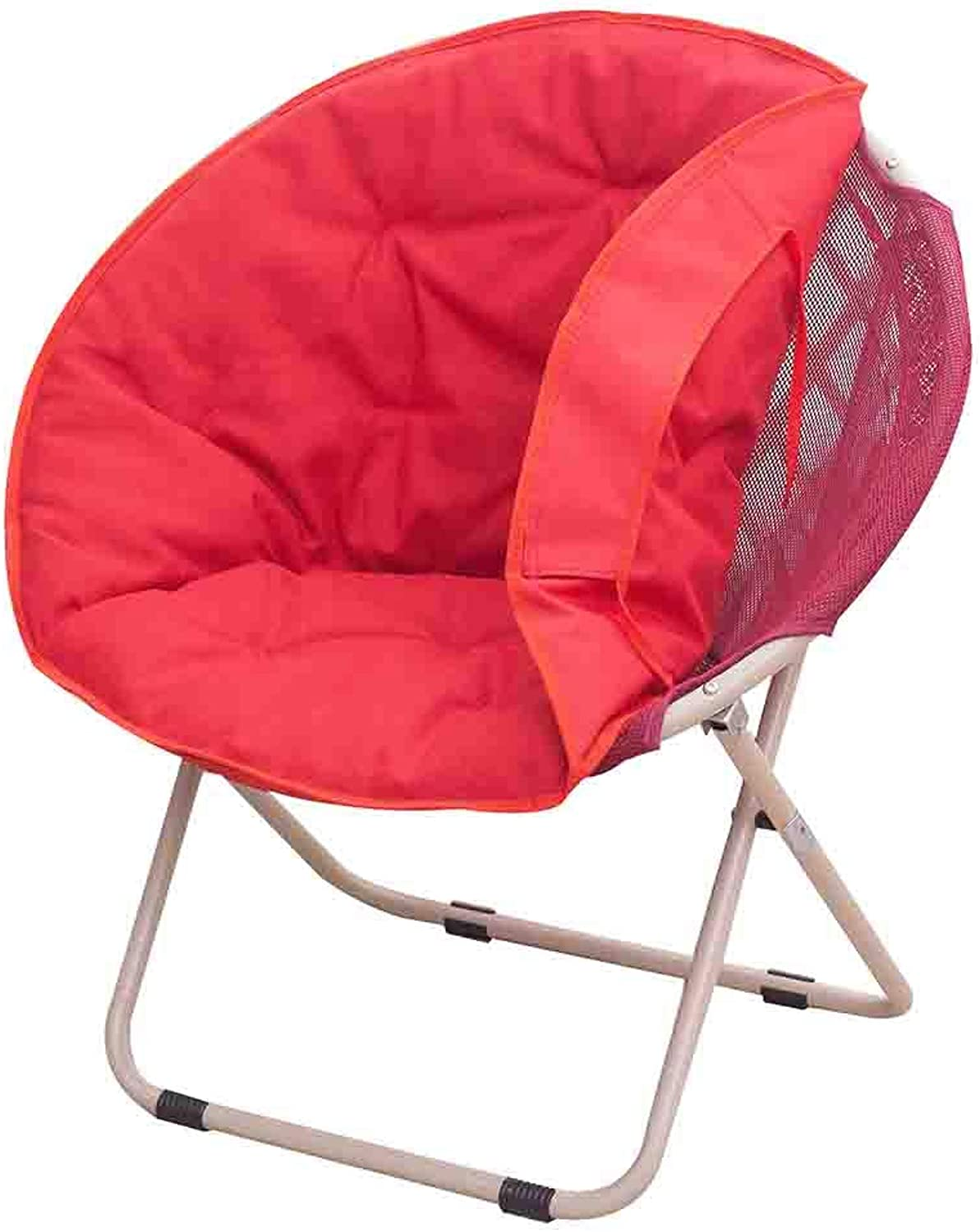 CAIJUN Chair Multifunction Foldable Removable Cloth Cover Large Comfortable Non-Slip Whole Outfit, 4 colors (color   RED, Size   52x51x76cm)
