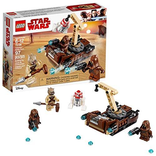 LEGO Star Wars Episodio: Una nueva esperanza Tatooine Battle Pack 75198 Kit de construcción (97 piezas)