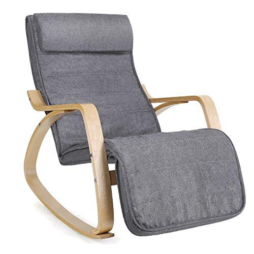 SONGMICS Sessel Schwingstuhl Bild