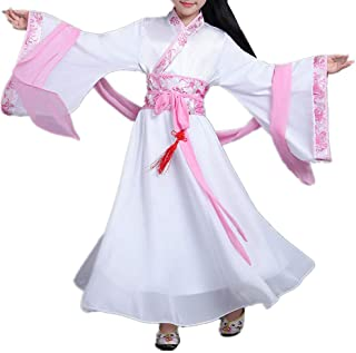 SEVEN O Girls Child Ancient Chinese Traditional Cosplay Costumes Hanfu Princess Fancy Dress