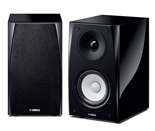 Yamaha NS-BP182 40W Negro altavoz - Altavoces (De 2 vías, Alámbrico, Banana, 40 W, 60 - 40000 Hz, Negro)