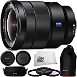 Sony 16-35mm Vario-Tessar T FE F4 ZA OSS E-Mount Lens + 3PC Multi-Coated Filter Kit...