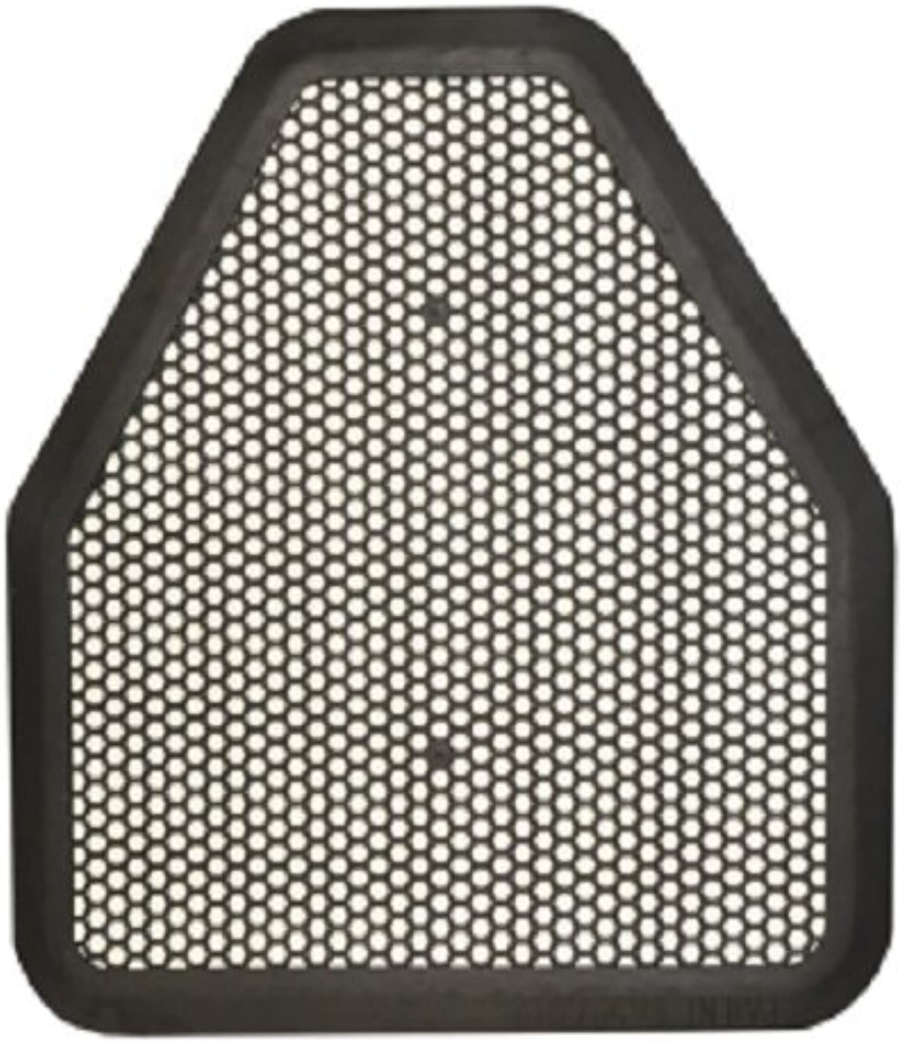 Tolco 220206 Eco-Choice Urinal Floor Mat, 18.5  Height, 0.25  Width, Black (Pack of 6)