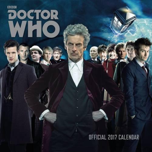 Doctor Who - Official 2017 Square Calendar