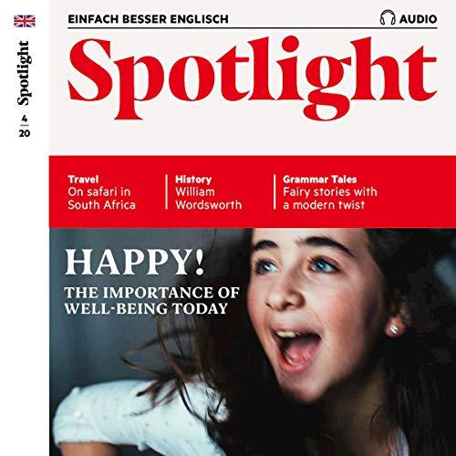 Spotlight Audio - Happy! 4/2020 Glücklich Titelbild