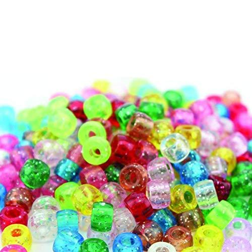Abalorios de cristal para manualidades y joyería de punto de cruz, 4500 unidades, colores variados
