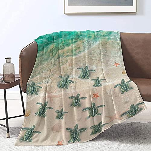 Manta de forro polar de franela súper suave para regalos, manta de felpa ligera y mullida de microfibra para sofá cama todas las estaciones M 152.4 x 127.0 cm para adolescentes