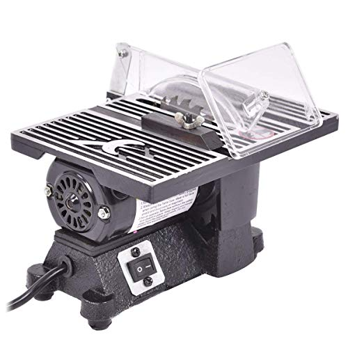 GOFLAME 4' Table Saw 8500 RPM Electric Ideal for Wood, Metal, Tile and...