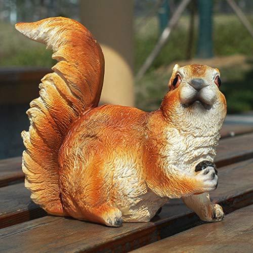 CKH tuindecoratie simulatie eekhoorn Villa tuin binnenplaats hars ornamenten dier outdoor scene