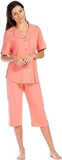 Fishers Finery Women's Tranquil Dreams Capri Pajama Set