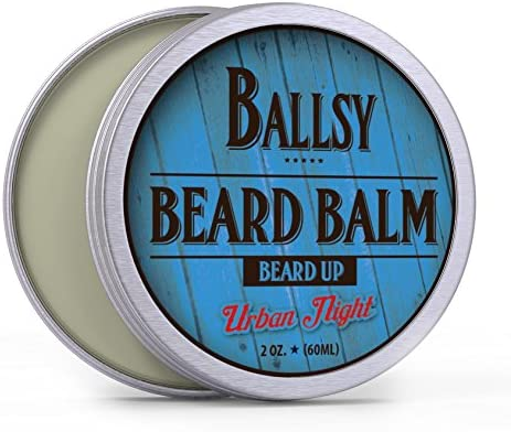 BALLSY Best Beard Balm Shea Butter All in One All Natural Organic Argan Jojoba Oil More Promotes product image