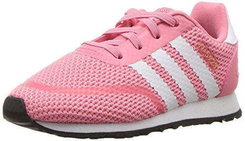 adidas Baby N-5923 EL I Sneaker, Chalk Pink s, Ftwr White, Grey Three Fabric, 6.5K M US Toddler