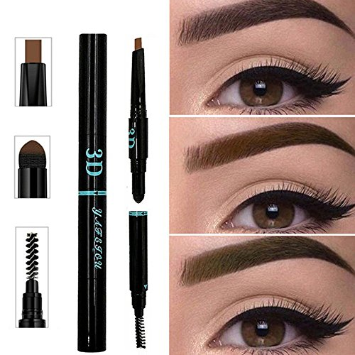 3 IN 1 Long Lasting Eyebrow Penc...