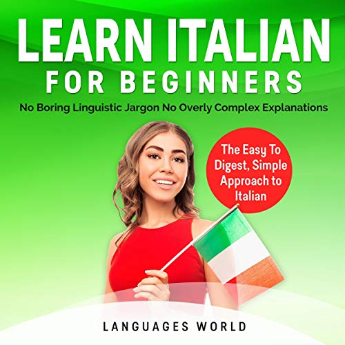 Learn Italian for Beginners Audiobook By Languages World cover art
