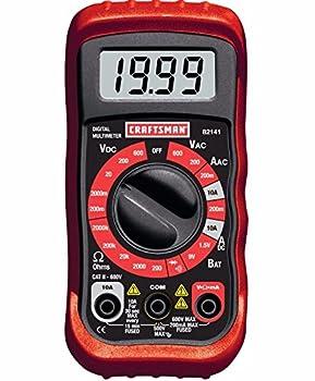 Craftsman 8 Function Multimeter 34-82141