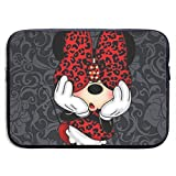 Laptop Sleeve Case Bag Cover Minnie Mouse Waterproof Fabric Laptop Sleeve Case for MacBook Pro Air 13-15 Inch