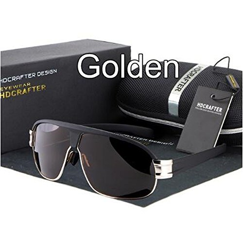 Moaeuro -  Occhiali da sole  - Uomo oro Golden