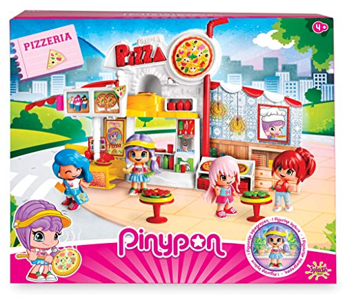 Pinypon: Pizzería con 1 figurita niños
