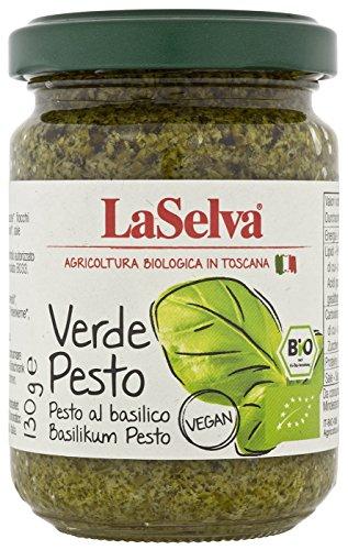 La Selva Bio Verde Pesto - Basilikum Pesto (1 x 130 gr)